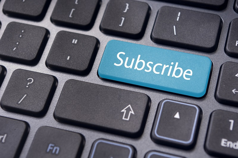 Subscribe and Manage E-Notification Subscriptions