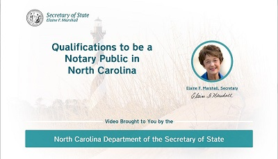 Qualifications to be a Notary Public