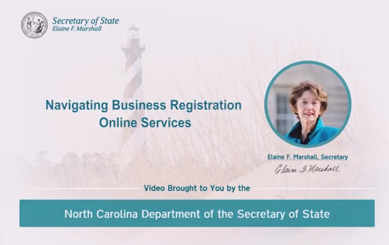 Business Registration Video